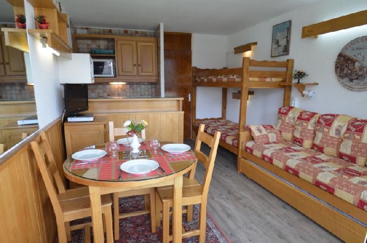Location au ski Studio 3 personnes (415) - Residence Tougnette - Les Menuires