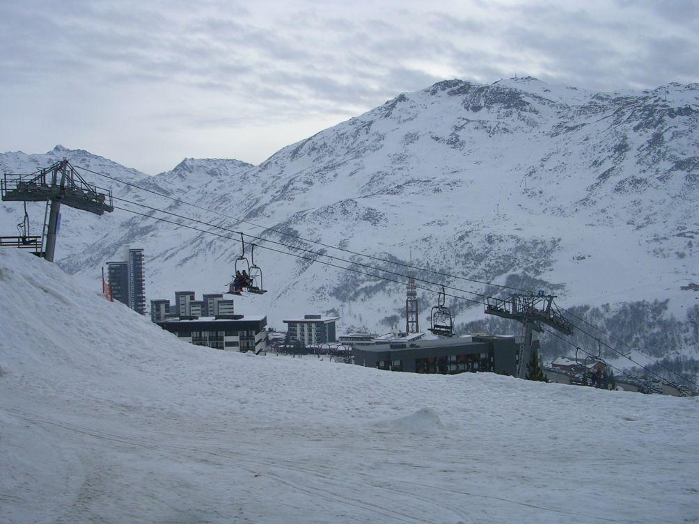 Location au ski Studio coin montagne 4 personnes (214) - Residence Tougnette - Les Menuires - Lits superposés