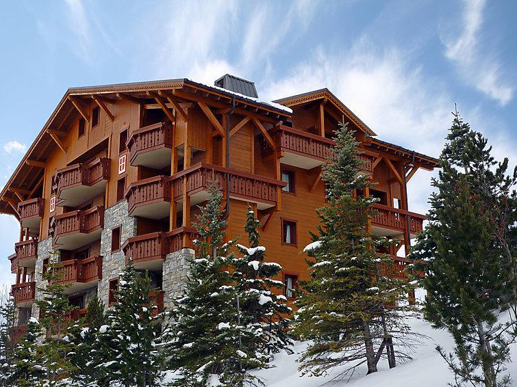 Holiday in mountain resort 3 room apartment 6 people (1) - Alpages de Reberty - Les Menuires - Winter outside
