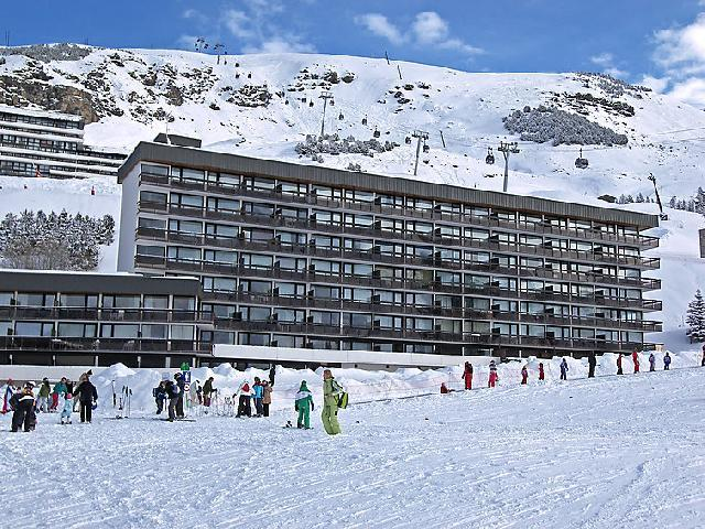 Holiday in mountain resort 3 room apartment 6 people (2) - Aravis - Les Menuires - Winter outside