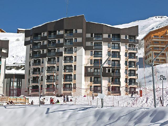 Holiday in mountain resort 2 room apartment 5 people (1) - Armoise - Les Menuires - Winter outside