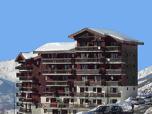 Holiday in mountain resort 2 room apartment 6 people (1) - Balcons d'Olympie - Les Menuires - Winter outside