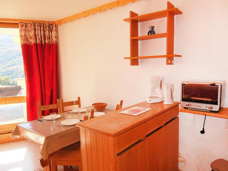 Location au ski Appartement 1 pièces 4 personnes (9) - Caron - Les Menuires - Appartement