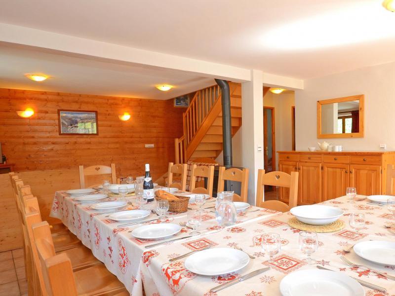 Location au ski Chalet Balcon Cime de Caron - Les Menuires - Salle à manger