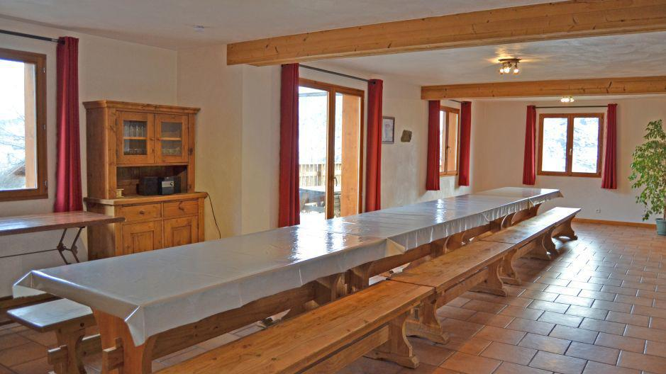 Alquiler al esquí Chalet Brequin - Les Menuires - Comedor