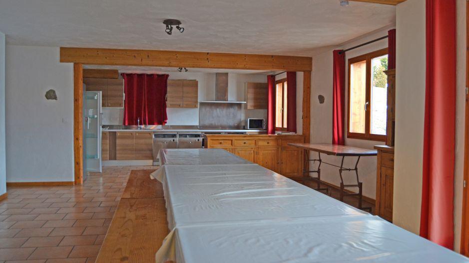 Location au ski Chalet Brequin - Les Menuires - Salle à manger