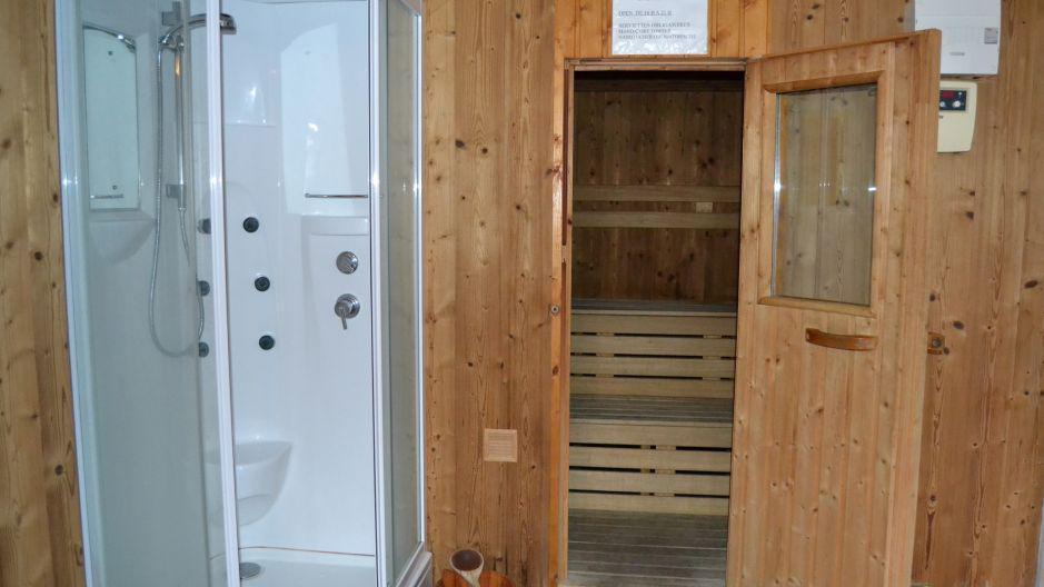 Alquiler al esquí Chalet Brequin - Les Menuires - Sauna