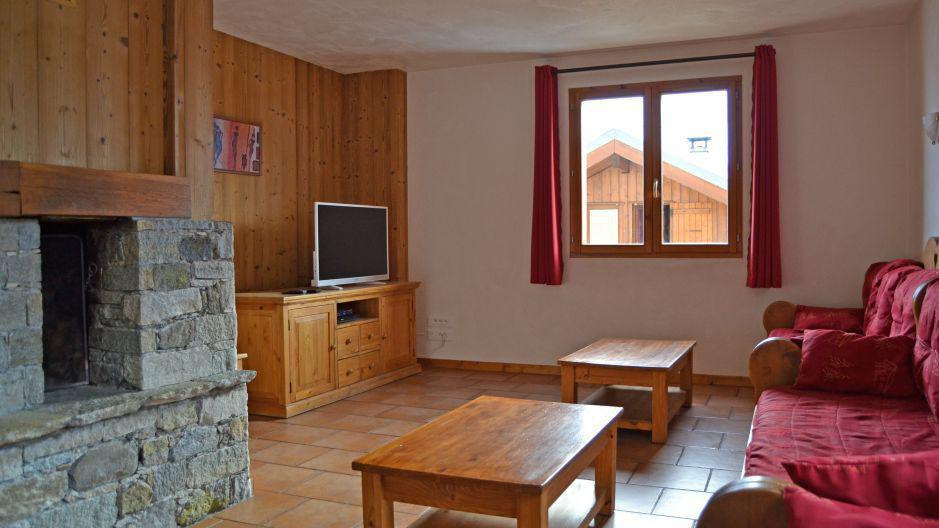 Location au ski Chalet Brequin - Les Menuires - Table basse