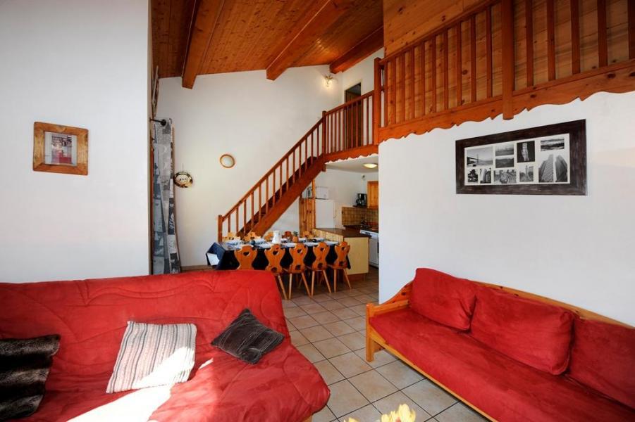 Location au ski Appartement duplex 4 pièces 10 personnes - Chalet Cristal - Les Menuires - Séjour