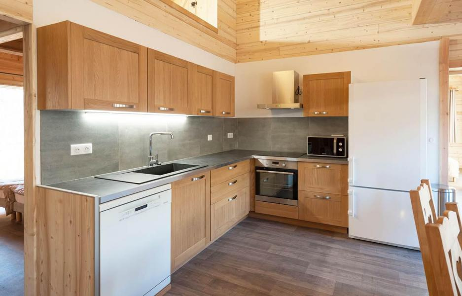 Rent in ski resort Chalet D'Alice - Les Menuires - Kitchen