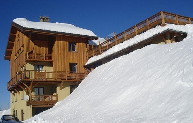 Location au ski Chalet de Marie - Les Menuires - Extérieur hiver