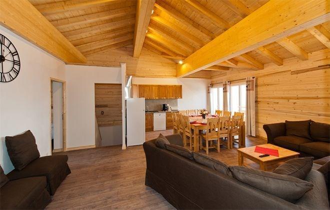 Location au ski Chalet de Sophie - Les Menuires - Séjour