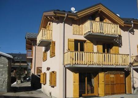 Location au ski Chalet mitoyen 7 pièces 12 personnes - Chalet du Berger - Les Menuires - Extérieur hiver