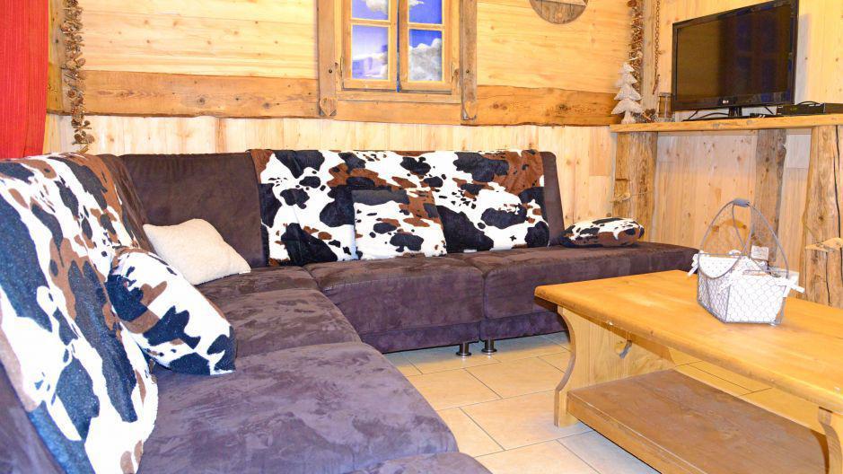 Location au ski Chalet du Berger - Les Menuires - Banquette