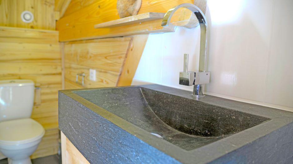 Location au ski Chalet du Berger - Les Menuires - Salle de bains