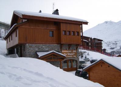 Location au ski Chalet Geffriand - Les Menuires - Extérieur hiver