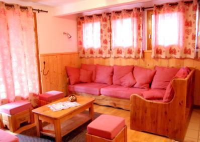 Location au ski Chalet Geffriand - Les Menuires - Séjour