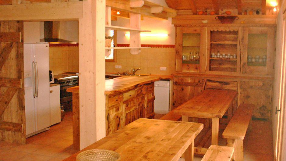 Location au ski Chalet Gran Koute - Les Menuires - Salle à manger