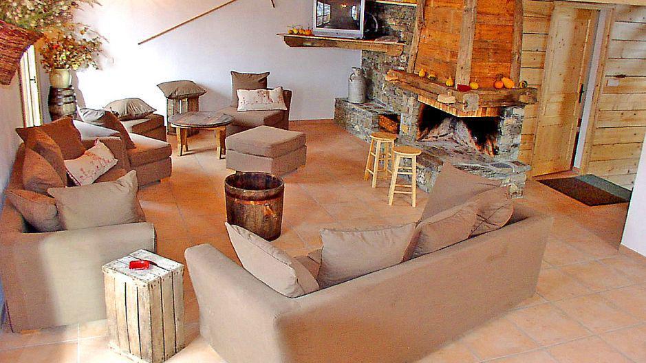 Location au ski Chalet Gran Koute - Les Menuires - Séjour
