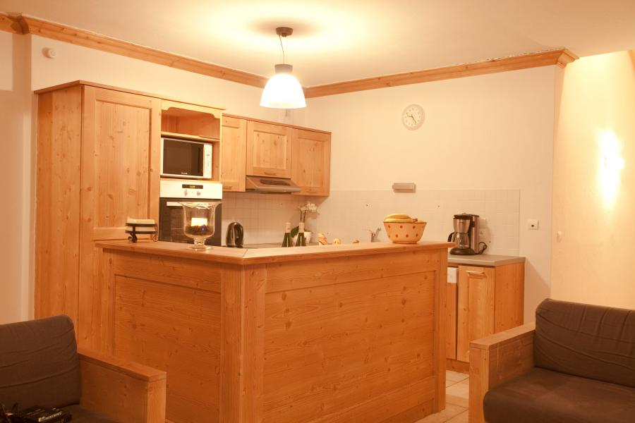 Rent in ski resort Chalet la Dame Blanche - Les Menuires - Kitchen