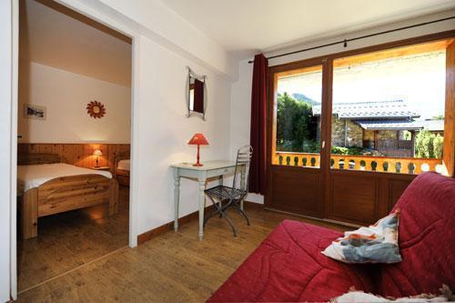 Location au ski Appartement duplex 6 pièces 13 personnes (1) - Chalet le Cristal - Les Menuires - Canapé-lit