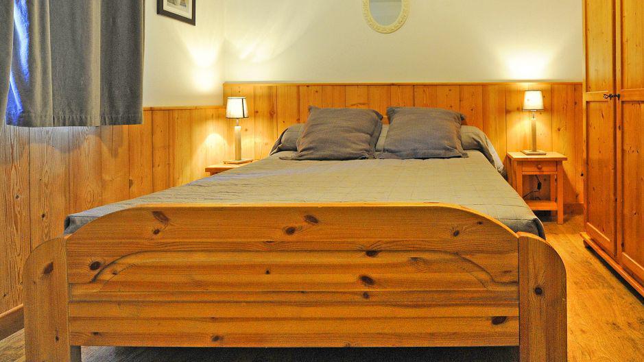 Location au ski Appartement duplex 6 pièces 13 personnes (1) - Chalet le Cristal - Les Menuires - Chambre
