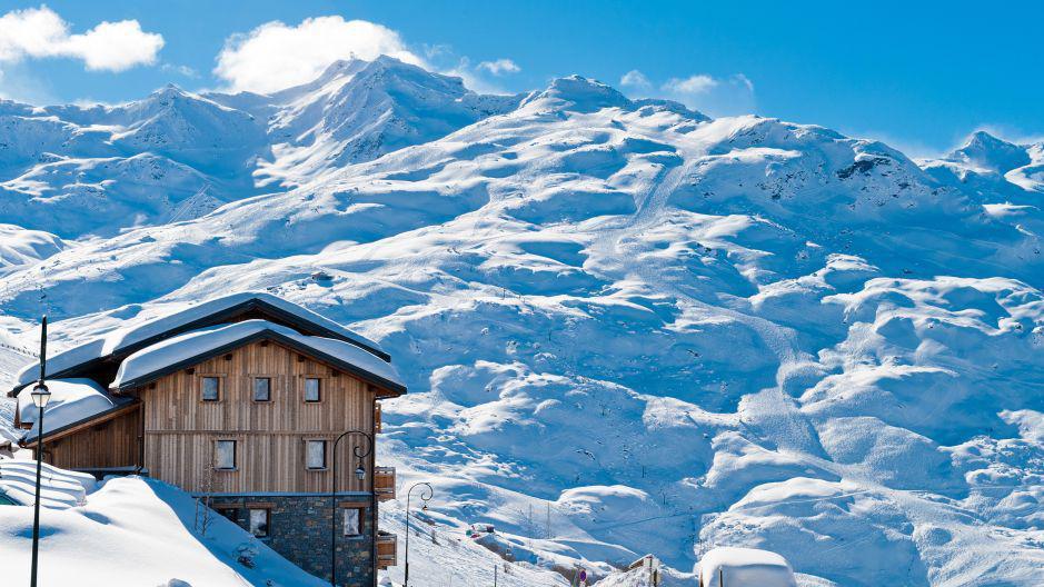 Location au ski Chalet Lili - Les Menuires - Extérieur hiver