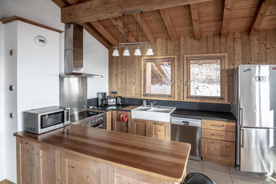Location au ski Chalet Lili - Les Menuires - Cuisine