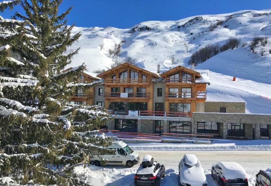 Wakacje w górach Chalet Lodge PureValley - Les Menuires - Zima na zewnątrz