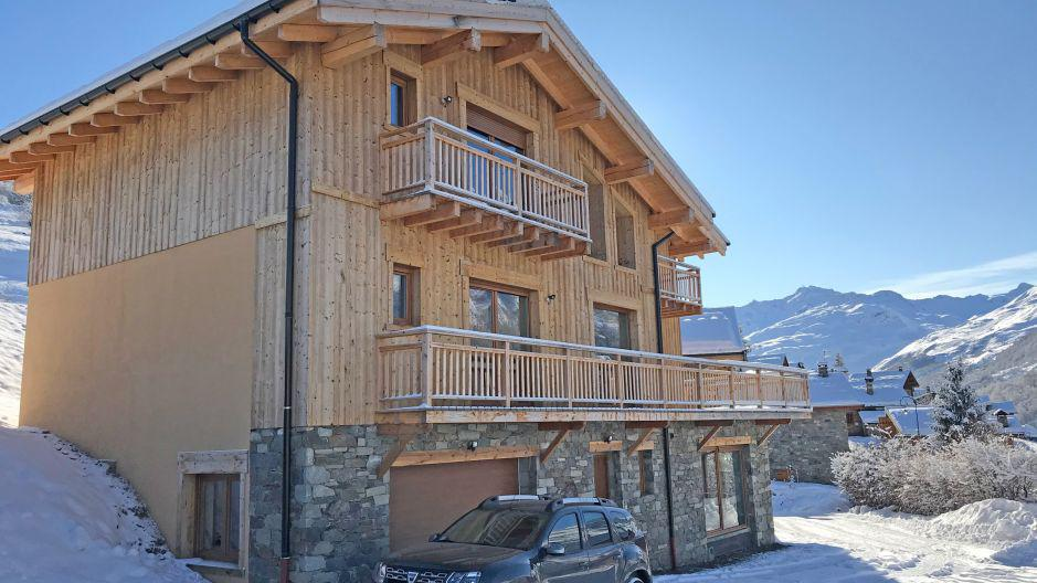 Wakacje w górach Chalet Matangie - Les Menuires - Zima na zewnątrz