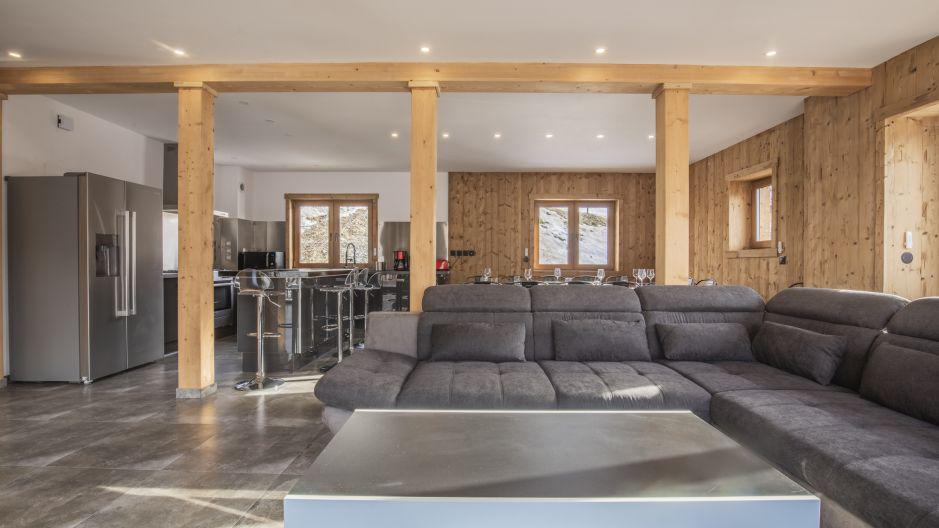 Rent in ski resort Chalet Matangie - Les Menuires - Bench seat
