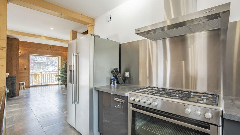 Rent in ski resort Chalet Matangie - Les Menuires - Cooking rings