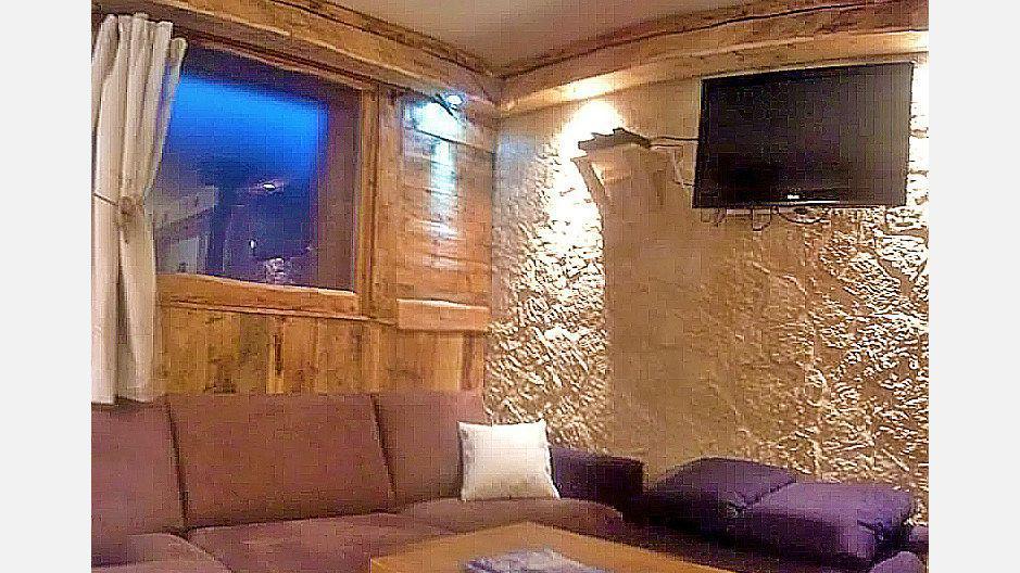 Rent in ski resort Chalet Mil'Ans - Les Menuires - Bench seat