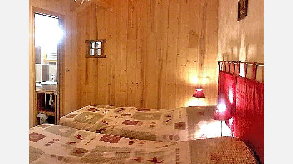 Location au ski Chalet Mil'Ans - Les Menuires - Chambre