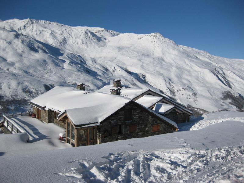 Location au ski Chalet Nécou - Les Menuires - Salle à manger