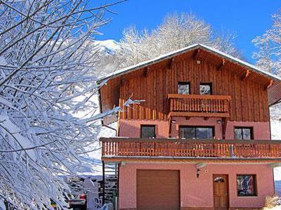 Location au ski Chalet 8 pièces 14 personnes (1510) - Chalet Perle Des Trois Vallees - Les Menuires - Extérieur hiver