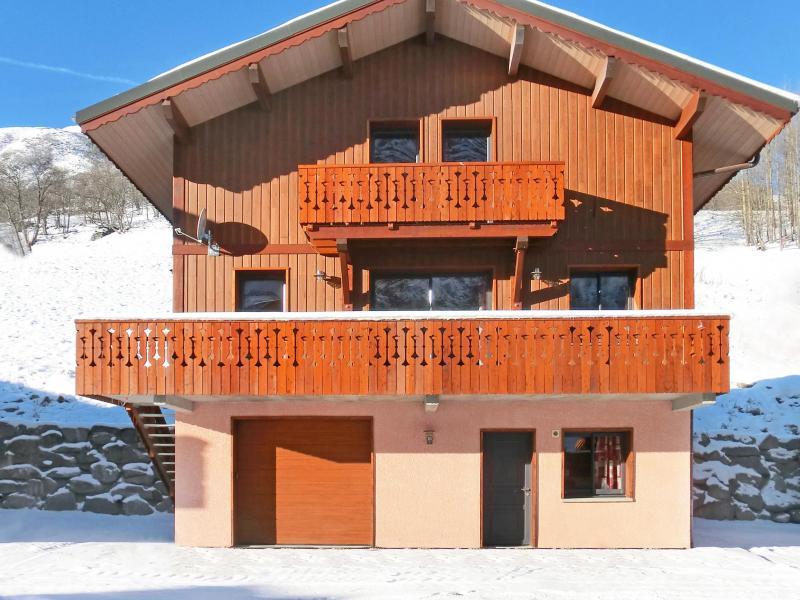 Location au ski Chalet Perle des Trois Vallées - Les Menuires - Extérieur hiver
