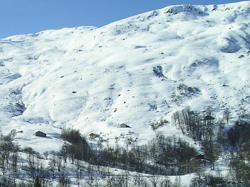 Vacances en montagne Chalet Praranger - Les Menuires - Extérieur hiver