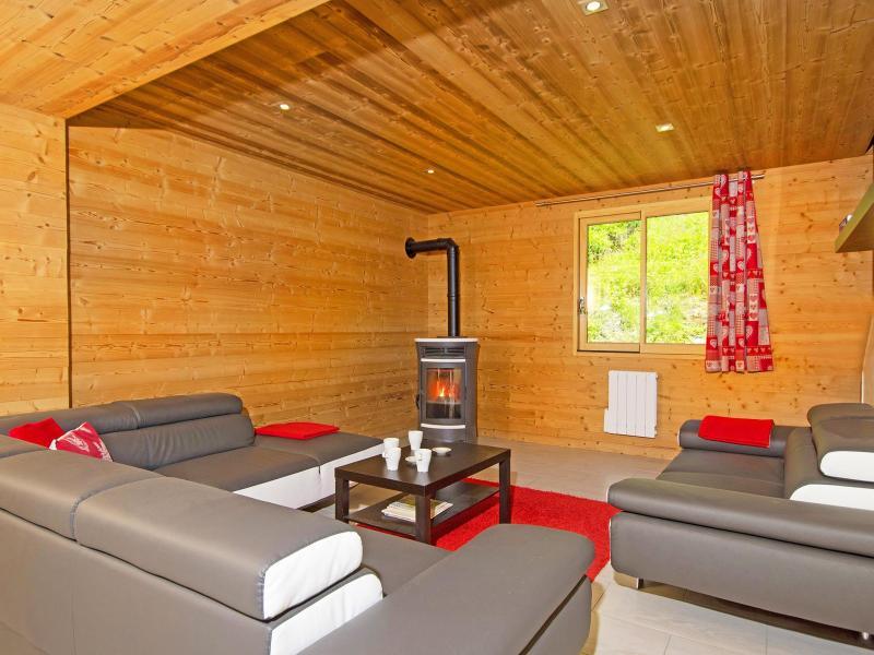 Rent in ski resort Chalet Ski Royal - Les Menuires - Living room