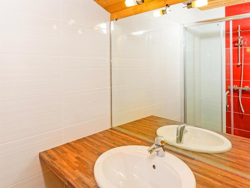 Rent in ski resort Chalet Ski Royal - Les Menuires - Wash-hand basin
