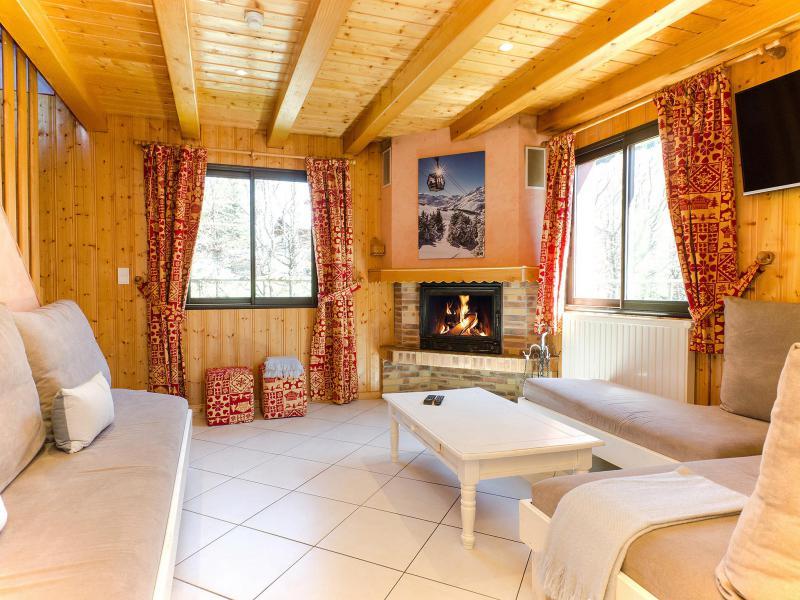 Location au ski Chalet Trois Vallées - Les Menuires - Séjour