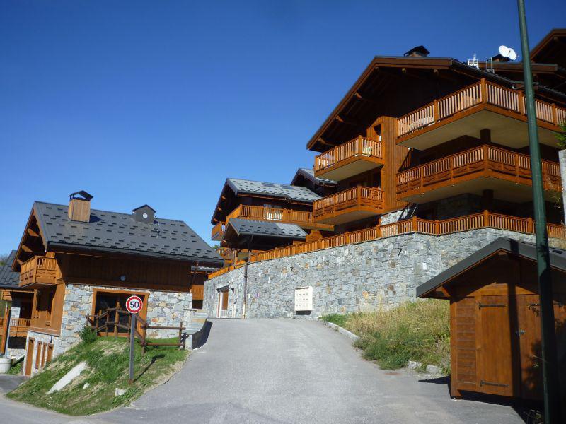 Location au ski Chalets du Doron - Les Menuires - Plan