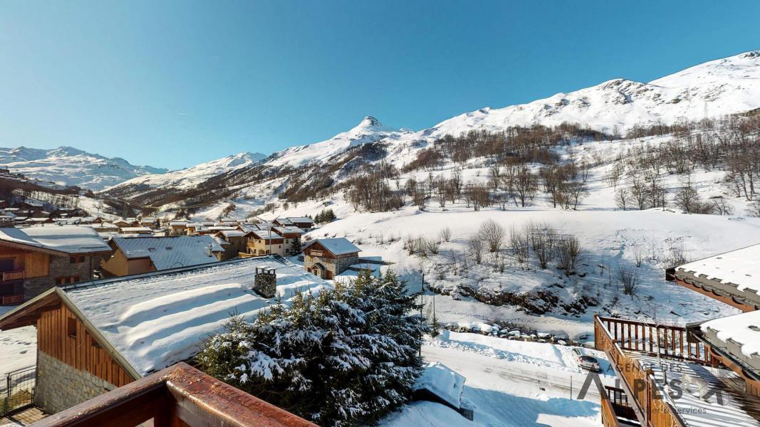 Location au ski Appartement duplex 4 pièces 6 personnes (B5) - Chalets du Doron - Les Menuires - Extérieur hiver