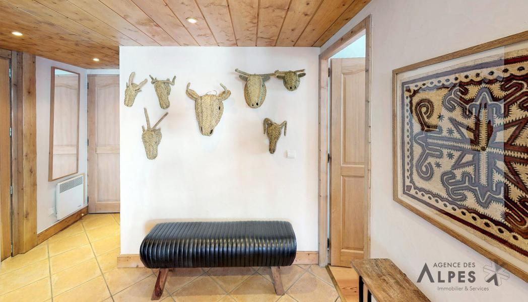 Location au ski Appartement duplex 4 pièces 6 personnes (B5) - Chalets du Doron - Les Menuires - Chambre mansardée
