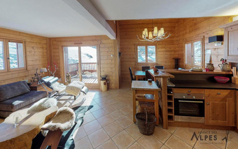 Location au ski Appartement duplex 4 pièces 6 personnes (B5) - Chalets du Doron - Les Menuires - Séjour