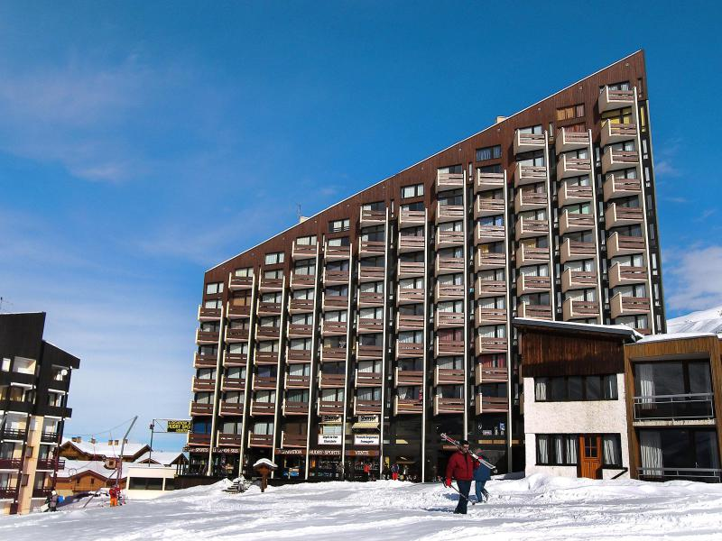 Holiday in mountain resort Grande Masse - Les Menuires - Winter outside
