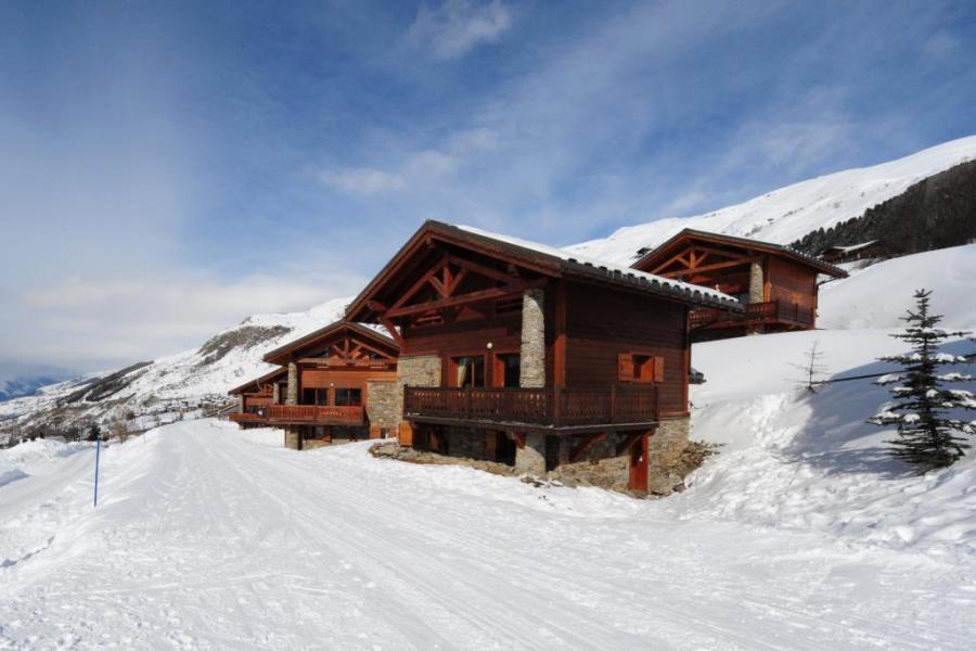 Vacaciones en montaña Hameau des Marmottes - Les Menuires - Invierno