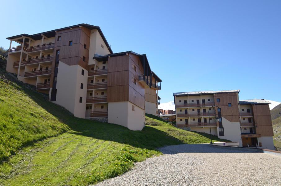 Аренда на лыжном курорте La Résidence Asters - Les Menuires - план