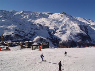 Location au ski Appartement 3 pièces 8 personnes - La Résidence Brelin - Les Menuires - Extérieur hiver
