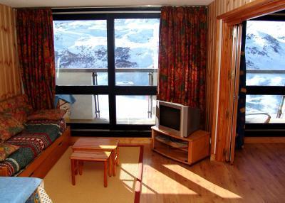 Location au ski Appartement 3 pièces 8 personnes - La Résidence Brelin - Les Menuires - Tv